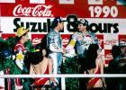 Tadahiko Taira et Eddie Lawson - 8H de Suzuka 1990
