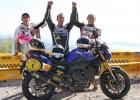 Nuques, Bouan et Sarron - Moto Tour 2010