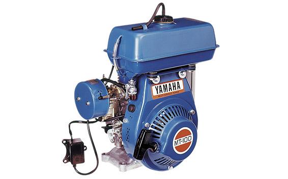 MT100 : premier moteur auxiliaire Yamaha (1969)
