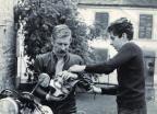 Eric de Seynes et son père (Années 70')