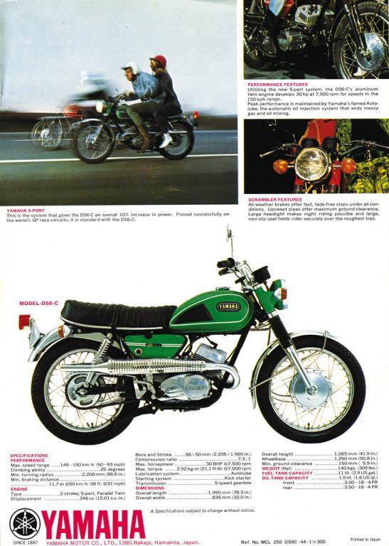 250 DS6-C (1971)