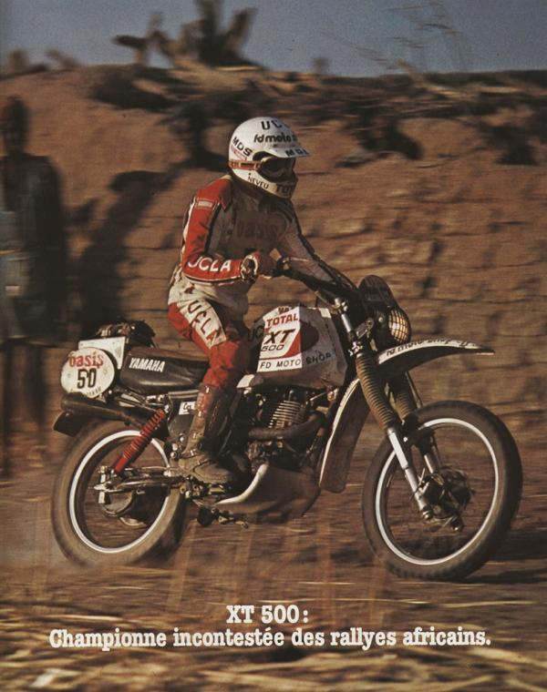 Cyril Neveu - Dakar 1980