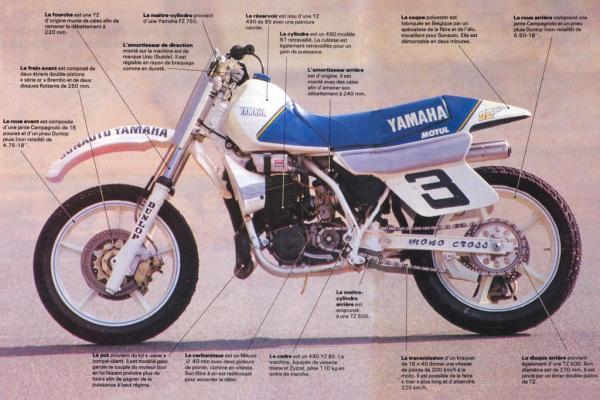 YZ490 'Supermotard' (1987)