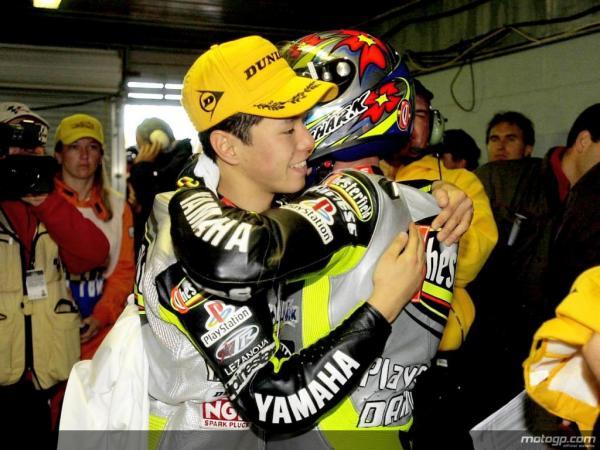 Nakano et Jacque : Grand Prix d'Australie 250 (2000)
