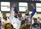 Podium du Motocross des Nations 2001