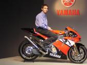 Rossi : premiers essais sur Yamaha (2004)