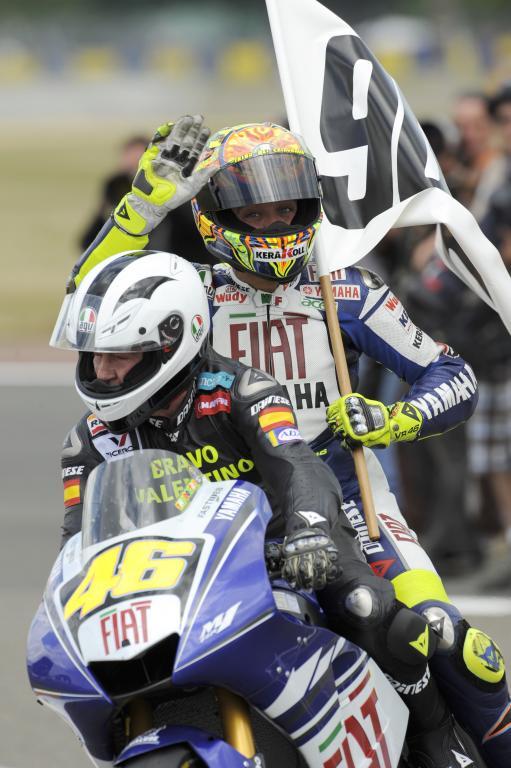 Valentino Rossi - Le Mans 2008