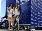 Yamaha Factory Racing Umbrella Girls (2012)