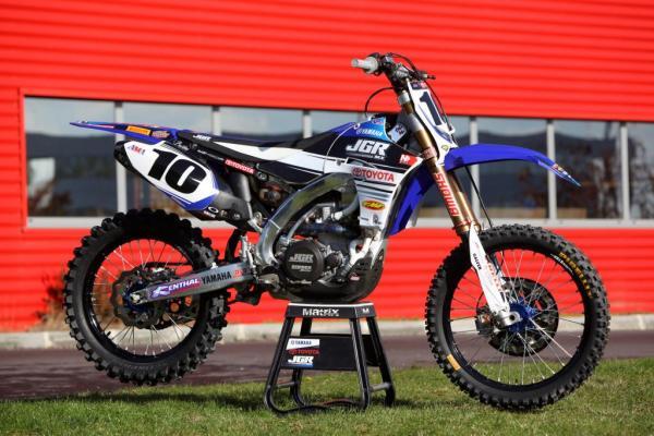 YZ450F 'Justin Brayton' (2013)