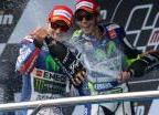 Lorenzo et Rossi - Grand Prix d'Espagne 2015