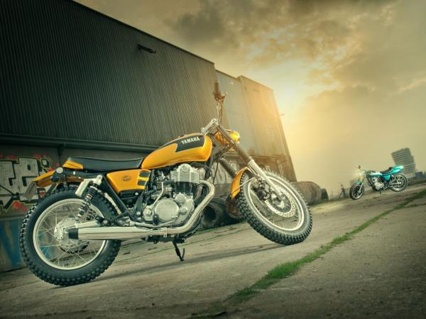 Yard Built SR400 « Stallion & Bronco » (2014)