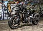 Yard Built XSR700 « double style » par Rough Crafts (2017)