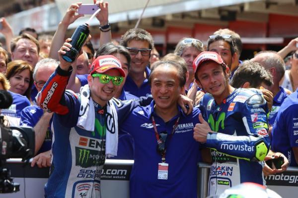 Champion du monde MotoGP Pilote, Team, Constructeur (2015)