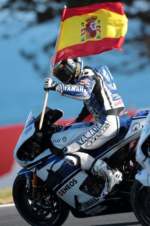 Jorge Lorenzo - GP d'Australie 2012