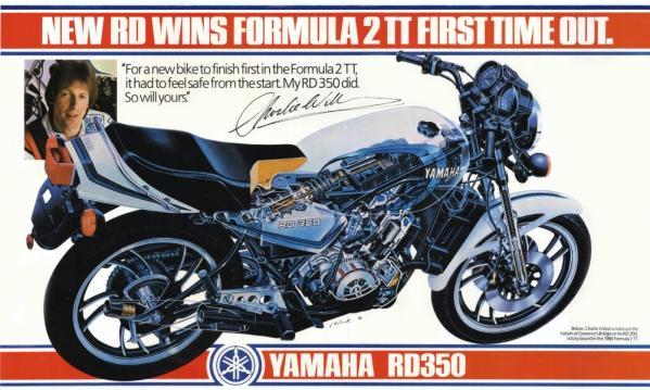 Publicité RD350 (1980)